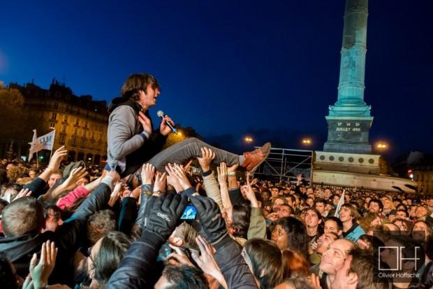 Place de la Bastille - Paris - 2012