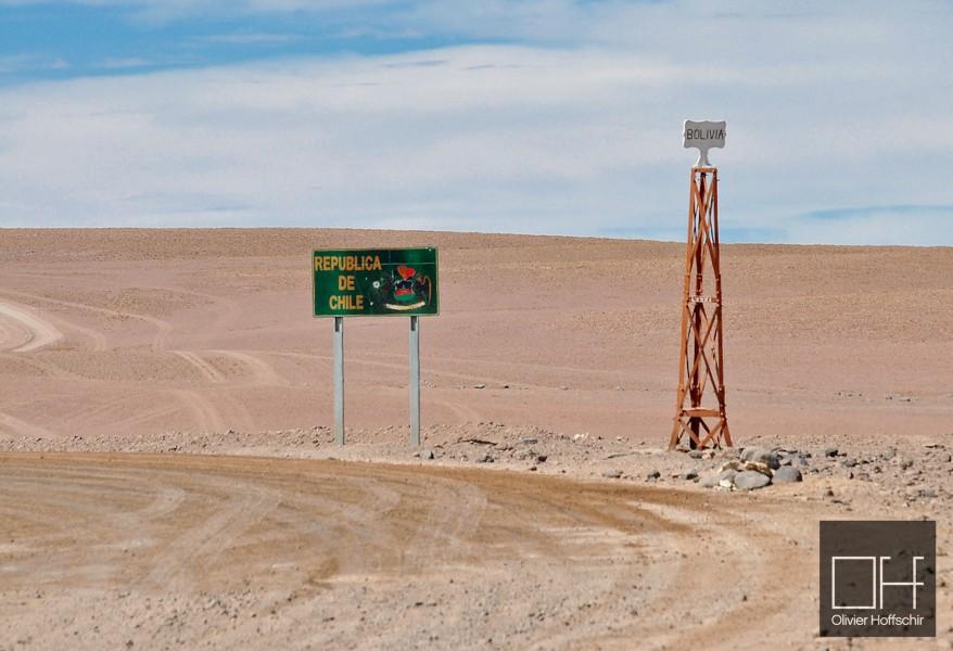 Sur Lípez Province - Chile/Bolivia border