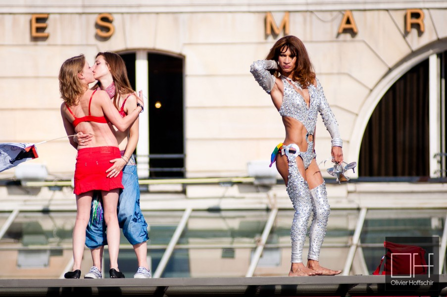 Paris gay pride 2011