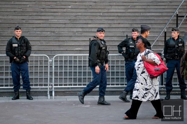 Gendarmes Mobiles @ Place de la Bastille