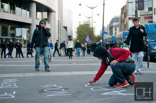 Indigneros @ Place de la Bastille