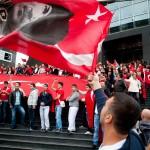 Türkish against PKK demonstration