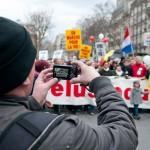 Marche pour la vie - Media