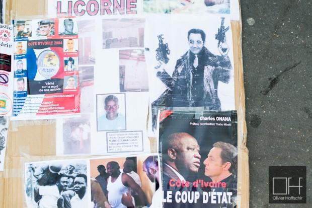 Manifestation pro Gbagbo
